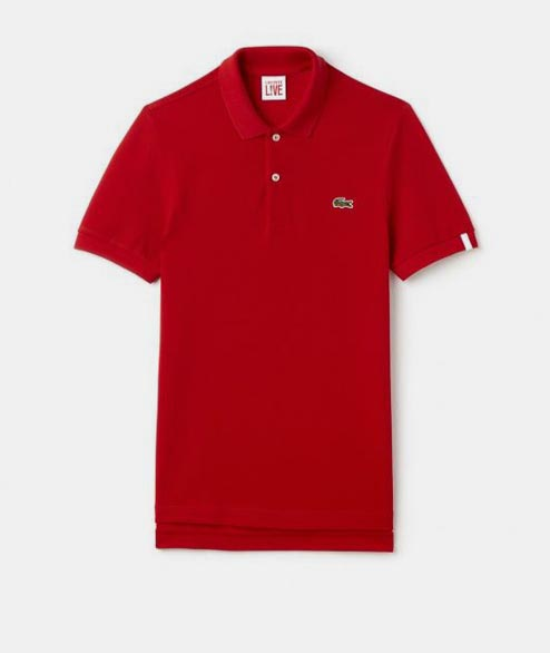 Lacoste Live - Unisex Polo - Red