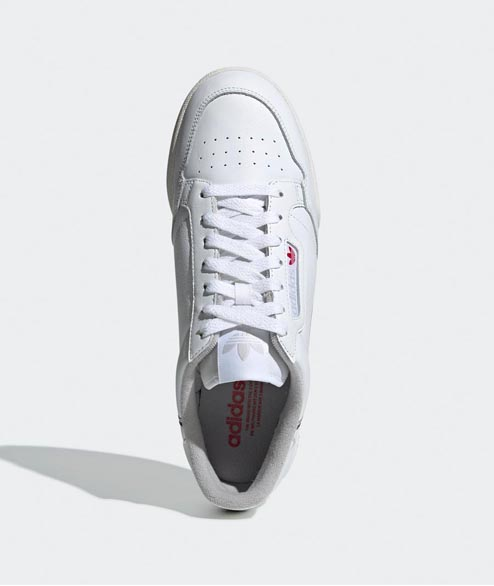 Adidas originals - Continental 80 - White Grey