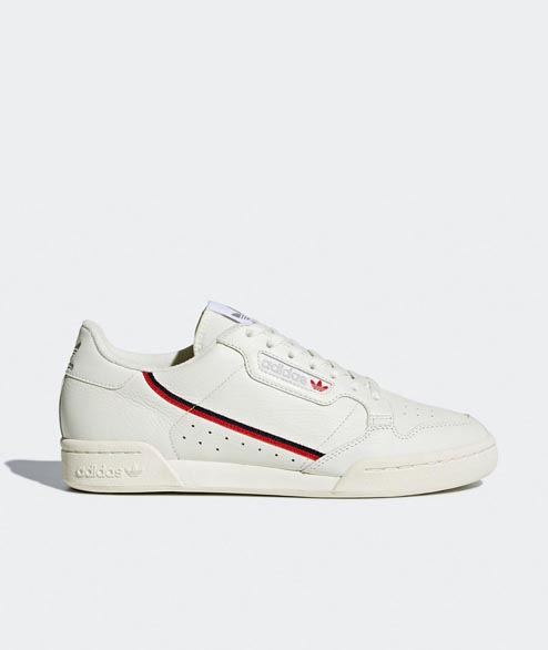 Adidas originals - Continental 80 - Beige Off White Scarlet