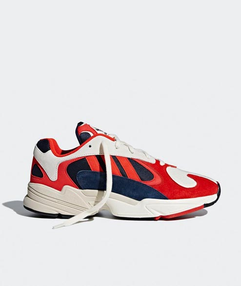 Adidas originals - Yung 1 - White Black Navy