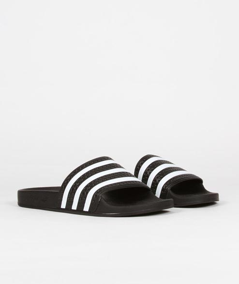 Adidas originals - Adilette - Black White