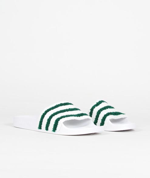 Adidas originals - Adilette - White Green