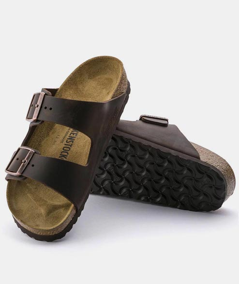 Birkenstock - Arizona Oiled Leather - Havanna