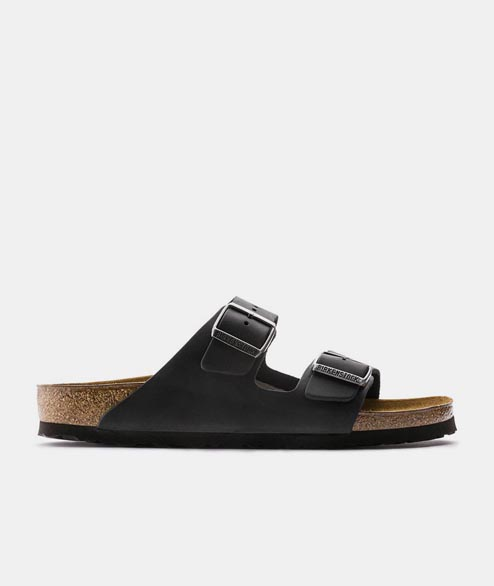 Birkenstock - Arizona Oiled Leather - Black