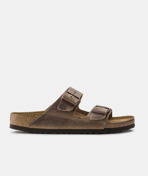 Birkenstock - Arizona NU Oiled - Tabacco Brown