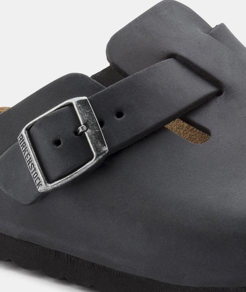 Birkenstock - Boston NU - Oiled Black