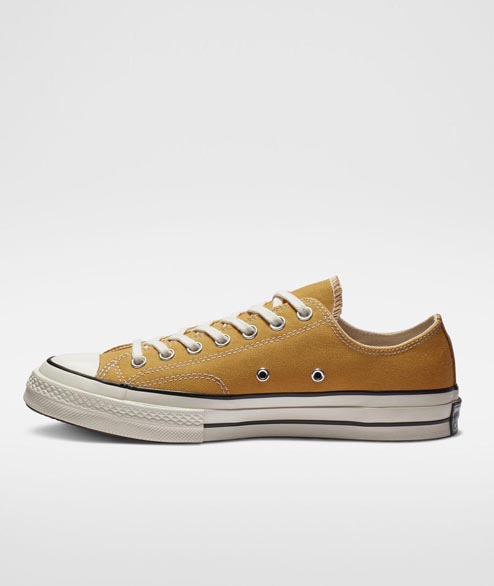 Converse - Chuck 70 OX Sunflowers - Black Egret