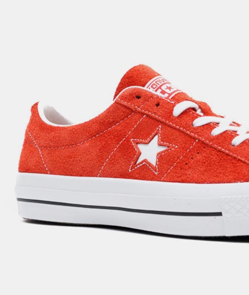 Converse - One Star OX - Red White