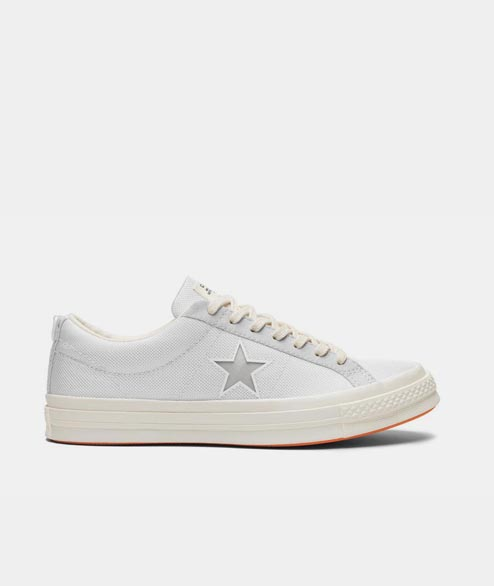 Converse - One Star X Carhartt WIP - White Vibrante Orange