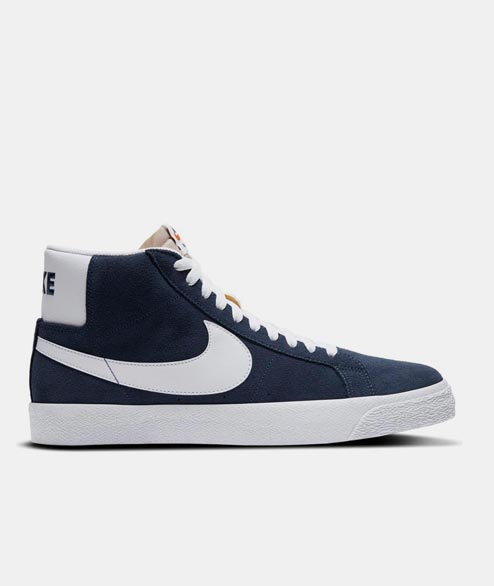 Nike SB - Zoom Blazer Mid - Navy White University Red