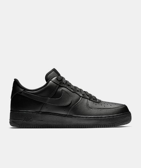 Nike Sportswear - Air Force 1 07 - Black Black
