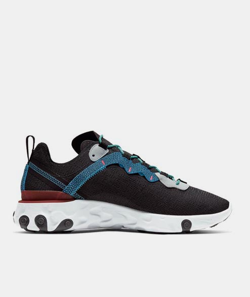 Nike Sportswear - React Element 55 - Antracite Blue Fury