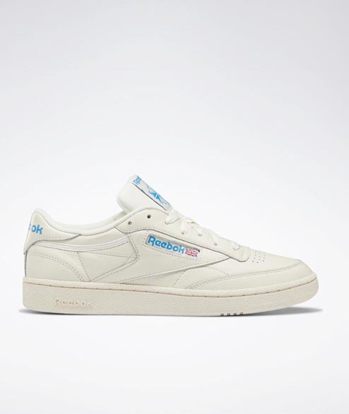 Reebok - Club C 85 - Chalk White Cyan