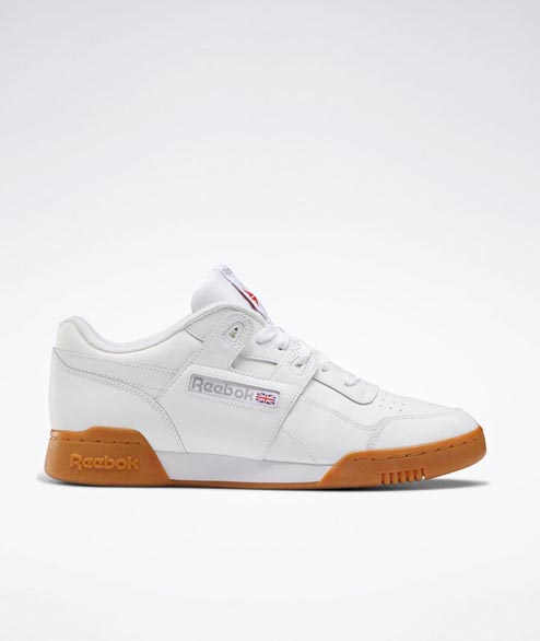 Reebok - Workout Plus - White Leather Gum