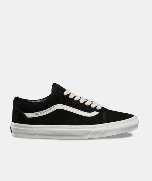 Vans - Old Skool - Herringbone Black White