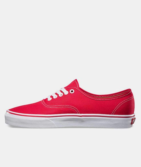 Vans - Authentic - Red