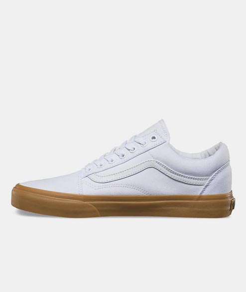Vans - Old Skool Suede - White Gum