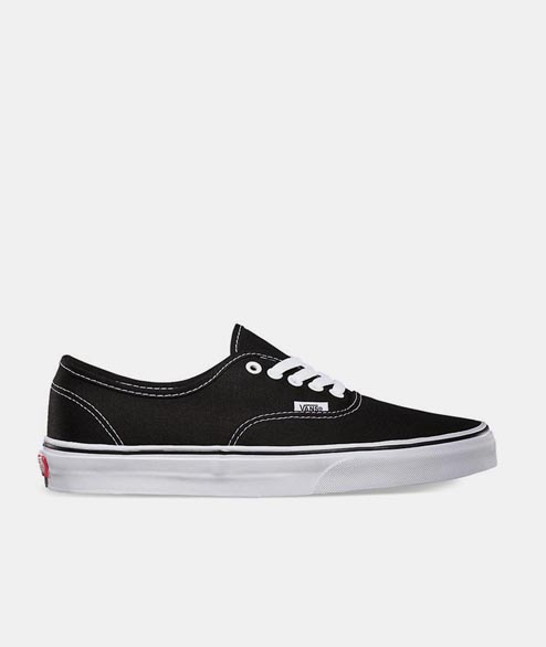 Vans - Authentic - Black White