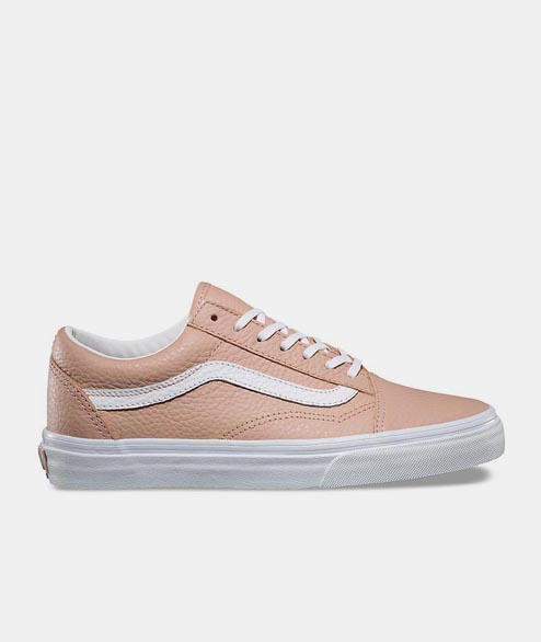 Vans - Old Skool DX - Tumbled Leather Pink