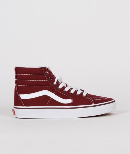 Vans - Sk8 Hi Canvas - Grape Leaf