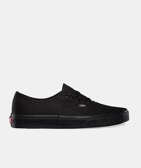 Vans - Authentic - Black Black