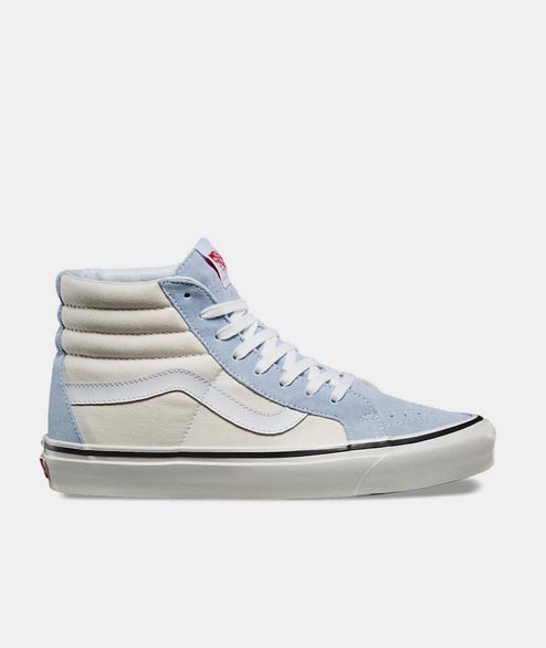 Vans - Sk8 Hi 38 DX - Light Blue White