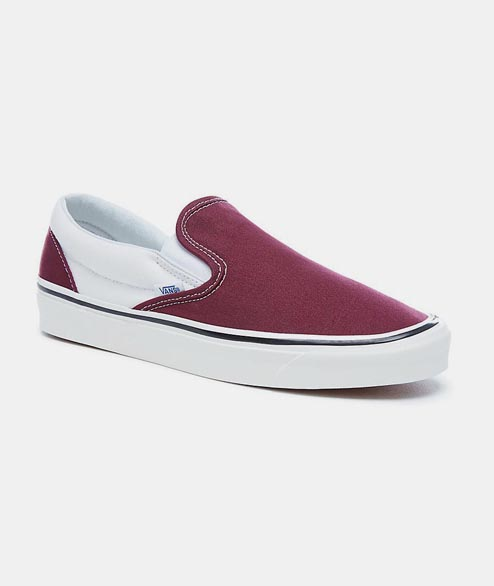 Vans - Classic Slip On 98 - Burgundy White