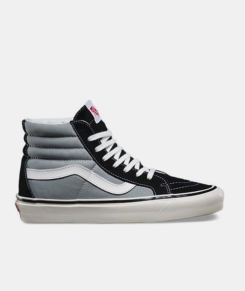 Vans - Sk8 Hi 38 DX - Black Light Grey