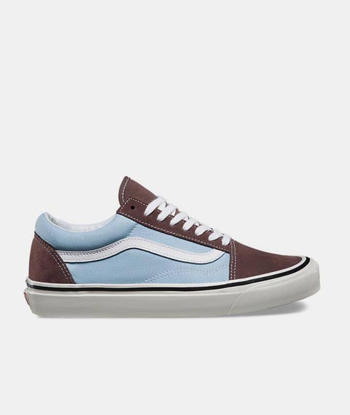 Vans - Old Skool Anaheim 36 DX - Brown Light Blue
