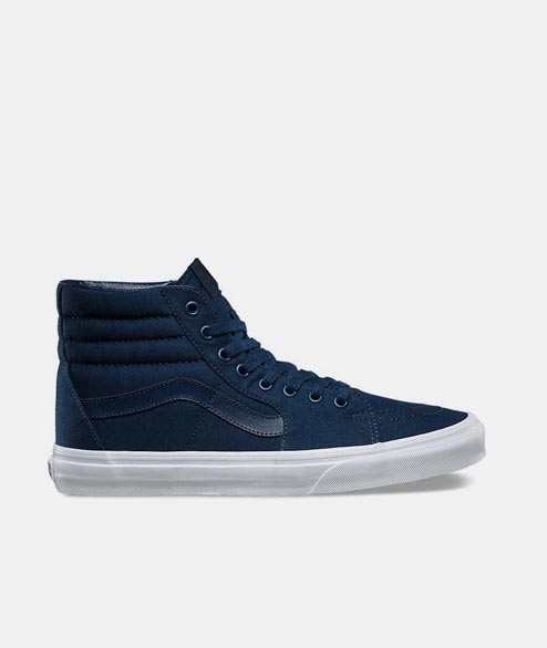 Vans - SK8 HI - Mono Canvas Dress Blue