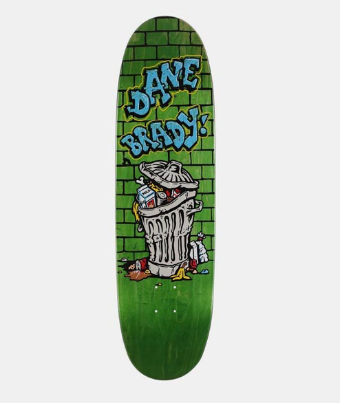 Polar Skate Co. - Dane Brady - Thrash can 8.75
