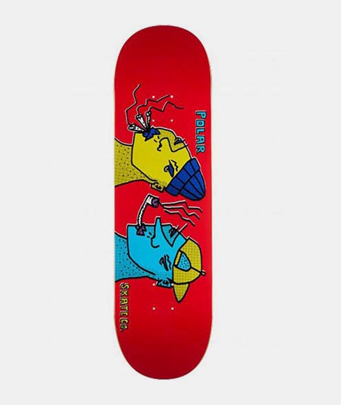 Polar Skate Co. - Polar - Smoking Heads   8.75