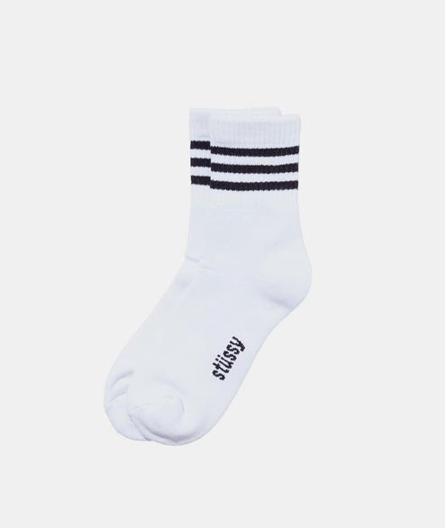 Stussy - Clean Stripe Socks - Black