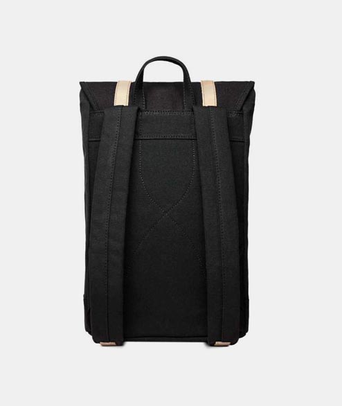 Sandqvist - Stig - Black Natural Leather