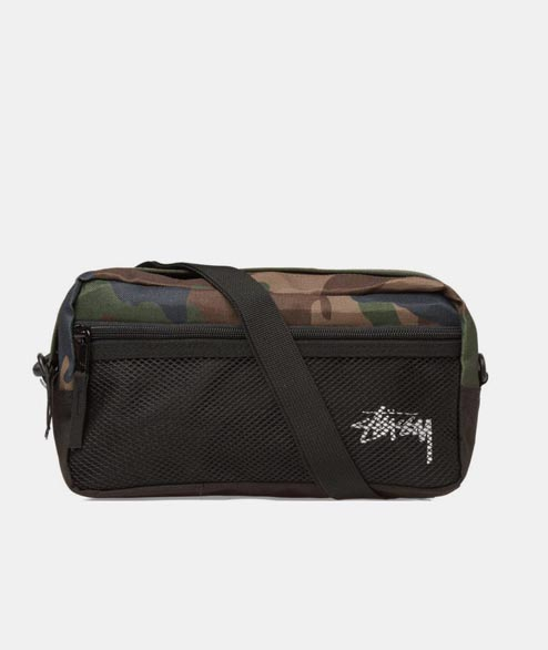 Stussy - Stock Side Bag - Camo