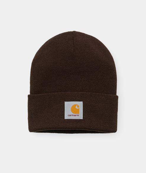 Carhartt WIP - Short Watch Hat - Tobacco