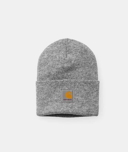 Carhartt WIP - Acrylic Watch Hat - Grey Heather