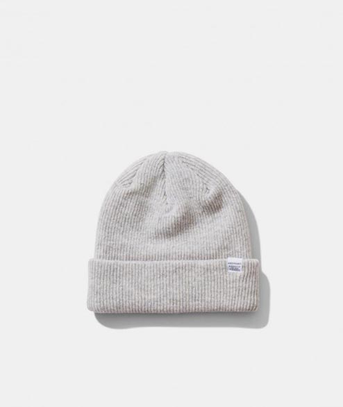 Norse Projects - Norse Beanie - Light Grey Melange