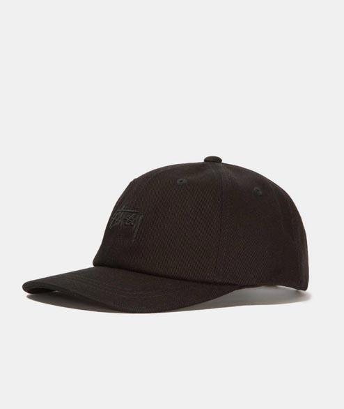 Stussy - Stock Big Twill Low Pro Cap - Black