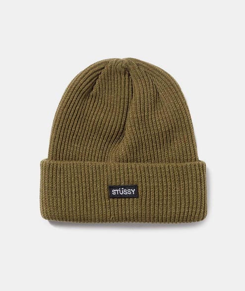 Stussy - Small Patch Watchcap Beanie - Green