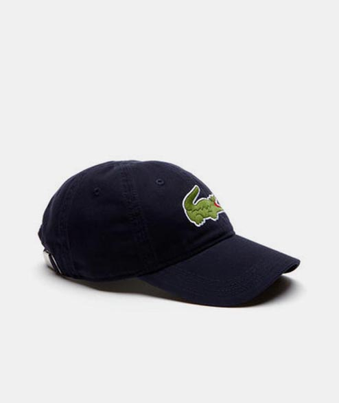 Lacoste Live - Big Crocodile Cap - Navy