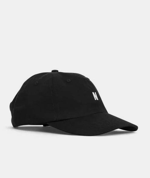 Norse Projects - Twill Sports Cap - Black