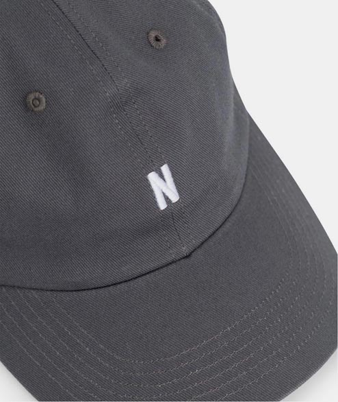 Norse Projects - Twill Sports Cap - Magnet Grey