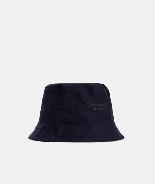 Norse Projects - Gore Tex Bucket Hat - Dark Navy