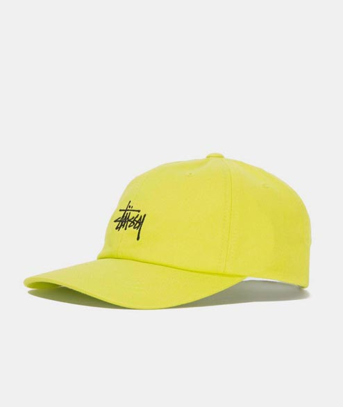 Stussy - Stock Low Pro Cap - Lime