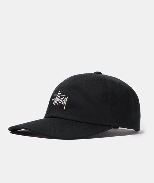 Stussy - Stock Low Pro Cap - Black