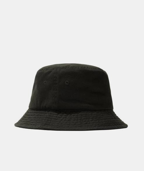 Stussy - Stock Bucket Hat - Black Black