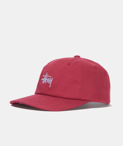 Stussy - Stock Low Pro Cap - Red