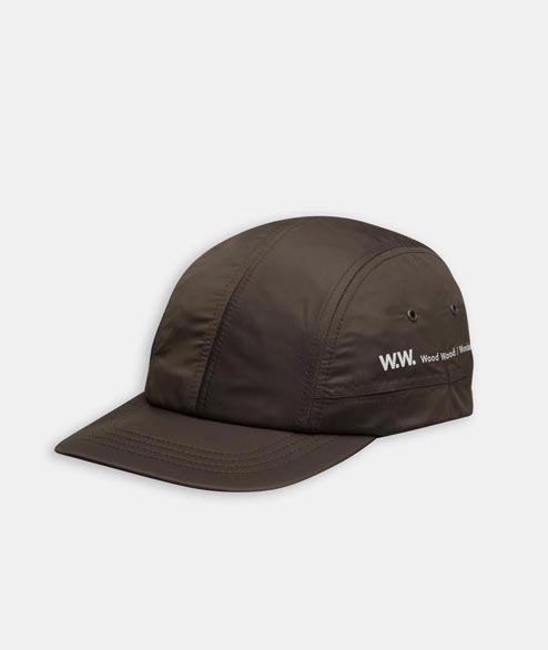 Wood Wood - Movement Cap - Dark Brown