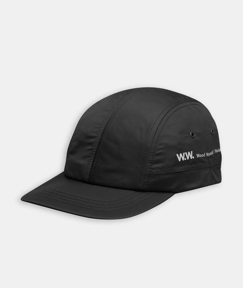 Wood Wood - Movement Cap - Black